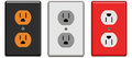Electrical Outlets Royalty Free Stock Photos - 63874238
