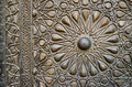 Ornaments Of The Bronze-plate Door Of An Old Mosque, Old Cairo, Royalty Free Stock Images - 63877399