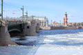 Breaking Of The Ice On The River Neva In St. Petersburg, Russia Royalty Free Stock Photo - 63882175