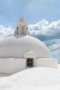 Round Sphere Rooftop On Top Of A Church With Royalty Free Stock Image - 63893686