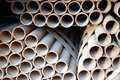 Steel Pipes Royalty Free Stock Images - 6396149