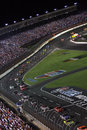 NASCAR - Down The Front Stretch! Royalty Free Stock Photos - 6396248