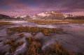 Beautiful Winter Sunset - Castelluccio Di Norcia. Royalty Free Stock Images - 63907229