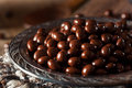 Chocolate Covered Espresso Coffee Beans Royalty Free Stock Image - 63940386