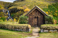 Traditional Viking House Stock Photography - 63968602