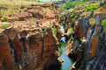 Canyon At The Bourke S Luck Potholes Royalty Free Stock Photos - 64006798
