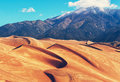 Great Sand Dunes Royalty Free Stock Image - 64018516