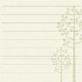 Tree Letter Paper Stock Images - 64025284