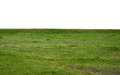 Green Grass Field Isolated On White Background Stock Photography - 64037122