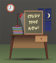 Study Time Now Royalty Free Stock Photos - 64050098