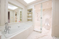 View Of A Spacious And Elegant Bathroom Royalty Free Stock Images - 64059029