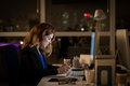 Working Late Stock Images - 64072904
