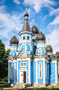 Church Of The Mother Of God All The Afflicted. Druskininkai Royalty Free Stock Image - 64086546