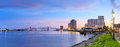 Downtown New Orleans, Louisiana And The Missisippi River Stock Photos - 64089173