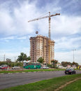Construction Of 18-story Residential Building Royalty Free Stock Image - 64092666