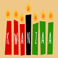 Kwanzaa Candles Royalty Free Stock Images - 64097499