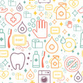 Vector Doodle Pattern Of Cleaning Tools. Cleaning Royalty Free Stock Image - 64156276