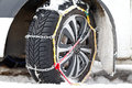 Snow Chains Stock Images - 64182084