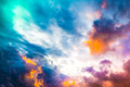 Sky And Clouds Royalty Free Stock Images - 64196589