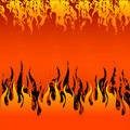 Red Fire Background Stock Images - 6423724