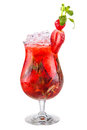Strawberry Cocktail Stock Photography - 64230982
