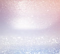 Glitter Vintage Lights Background. Light Silver, And Pink. Defocused. Royalty Free Stock Image - 64276136