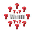 What If Question Illustration Design Royalty Free Stock Photography - 64296387
