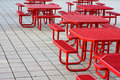Empty Benches Stock Photography - 6431522