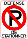 No Parking Sign Royalty Free Stock Images - 6431639