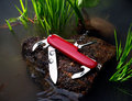 Red Knife Stock Image - 6439221