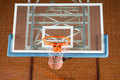 Basketball Passing Through The Goal Post Royalty Free Stock Photo - 64324255