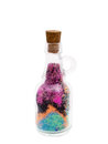 Bottle With Colored Sand Royalty Free Stock Photos - 64327018