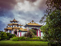 Buddhist Temple Royalty Free Stock Photography - 64387097
