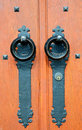 Rustic Wooden Door Royalty Free Stock Image - 6448816