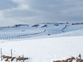 Shapes Of Winter Slopes Under The Snow Stock Photography - 64418512