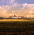 Montana Mountains Landscape Royalty Free Stock Photography - 64428517