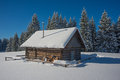 House Under Snow Royalty Free Stock Images - 64473799
