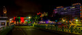 Late Christmas Evening In Brightly Lit Bridgetown, Barbados Royalty Free Stock Photo - 64493605