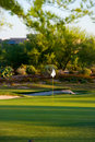 Golf Course In The Arizona Desert Stock Image - 6450231