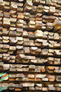 Pile Of Wood Royalty Free Stock Photo - 6453615