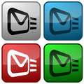 Email Buttons Royalty Free Stock Photo - 6456805
