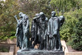 The Burghers Of Calais In The Hirshhorn Museum In Washington DC. Stock Photography - 64500062