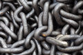 Metal Chain Heap Texture Stock Photography - 64541542