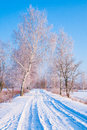Winter Road Royalty Free Stock Photos - 64615828