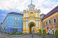 Basilian Monastery Gate In The Old Town Of Vilnius In Lithuania Stock Photo - 64627150