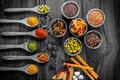 Herbs And Spices Still Life Royalty Free Stock Photos - 64629458