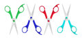 Scissors Isolated On A White Background Stock Images - 64650574