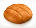 Round Bread Icon Stock Images - 64659964