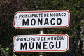 Principality Of Monaco Sign Royalty Free Stock Photography - 6479367