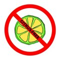 Symbol: Citrus-Free Text Royalty Free Stock Images - 6479849